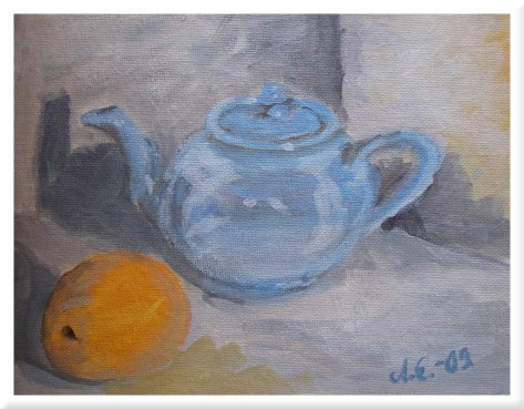 Sininen teekannu